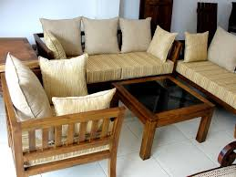 Wooden Sofa Sets For Living Room Teak Wood Sofa Set Designs Bangalore Www Redglobalmx Org