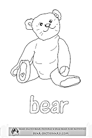 gorgeous baby teddy bear coloring pages cool article ngbasic
