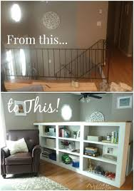 turn your ordinary railings into beautiful built ins hometalk