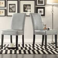 Parsons Kitchen Table by Gray Parsons Kitchen U0026 Dining Chairs You U0027ll Love Wayfair