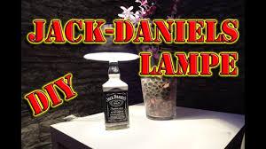 Wohnzimmer Lampe Anleitung Jack Daniels Lampe Selber Bauen Diy How To Anleitung