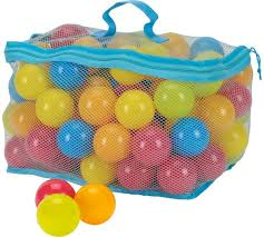 buy chad valley bag of 100 multi coloured play balls at argos co