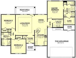 1500 square floor plans house plan 142 1056 3 bdrm 1 500 sq ft acadian home