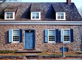 dutch colonial stone house and local antiques old house