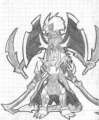 x samurai sketch by ladybeelze on deviantart