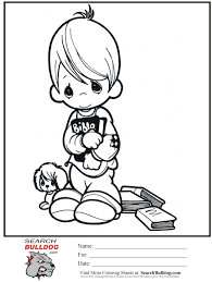 precious moments coloring pages sunday bible