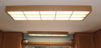 Fluorescent Lights For Kitchens Ceilings by Nicer Fluorescent Light Covers Home Decor Pinterest