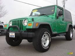 electric 4x4 2005 electric lime green pearl jeep wrangler unlimited 4x4