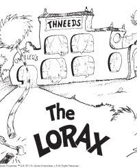 lorax coloring pages pdf lorax coloring page literacy pinterest lorax activities and