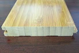 board construction of bamboo flooring