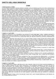 dispense giurisprudenza diritto dell asia orientale cerca e scarica appunti gratis docsity