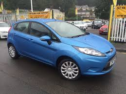 ford fiesta 1 25 edge 5dr blue 2012 in baglan neath port