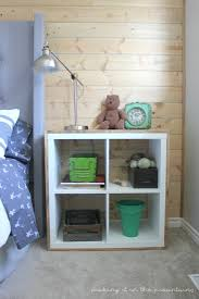 Plywood Bedside Table 35 diy ikea kallax shelves hacks you could try shelterness