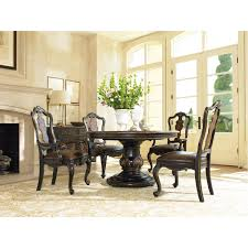hooker furniture 5029 75203 grandover pedestal dining table in