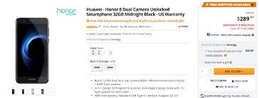 amazon black friday scanners deal alert get huawei u0027s honor 8 for 289 99 110 off with a