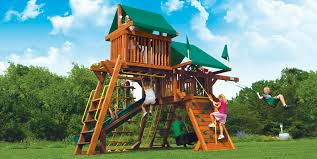 Playground Sets For Backyards by Small Yard Play Structures Swing Sets Playground Equipment
