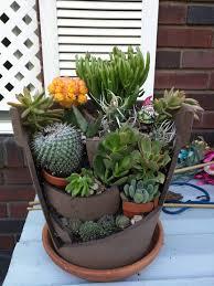 Pot Garden Ideas Exciting S Attempt At Broken Pot Garden Pics In