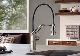 brizo kitchen faucet brizo 63225lf artesso single handle articulating arm kitchen