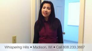 whispering hills townhouses madison wisconsin 2 bedroom tour youtube