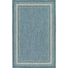 Teal Area Rug Teal Rugs Flooring The Home Depot