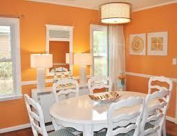 colori pareti sala da pranzo arancione per la sala da pranzo