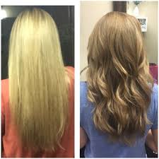 rusk ponytail method pictures from bleached out blonde to ombré i used rusk 7 w 10vol at root