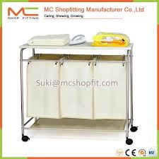 Laundry Sorter With Folding Table Amazing Of Laundry Sorter With Folding Table Stonecast