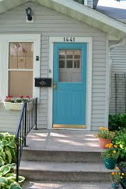 Teal Front Door by Blue House What Color Door Btca Info Examples Doors Designs