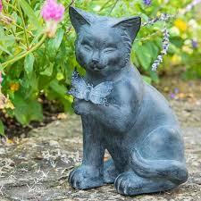 best of friends cat statuary brecks