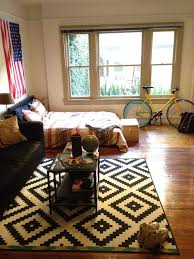 College Dorm Rugs College Dorm Room With American Flag Display Home Design And