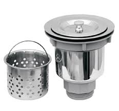whitehaus nrnw35a ss 3 1 2 inch basket strainer with deep