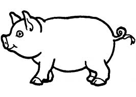 Coloring Pages Outstanding Pig New Page 58 On Of Color Sheet We Pig Coloring Pages