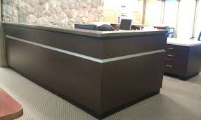 L Shaped Reception Desk L Shaped Reception Desk With Hutch Ceg Portland L Shaped