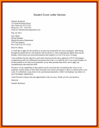student cover letter examples 6 sample student cover letter science resume