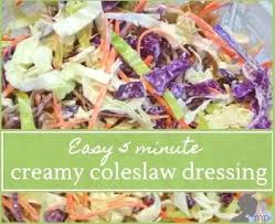 the 25 best creamy coleslaw dressing ideas on pinterest light