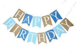 boy birthday blue happy birthday banner baby boy birthday decor photo prop party