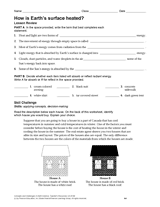 what are the states of matter worksheet teachervision