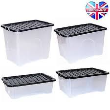 Large Clear Storage Containers - best 25 large plastic storage boxes ideas on pinterest plastic