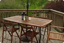 Refinishing Patio Furniture by Refinished Patio Dining Set