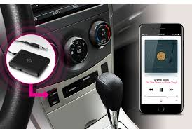 How To Put An Aux Port In Your Car Istream Universal Bluetooth Audio Receiver Aluratek