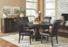 Pine Dining Room Set by Weber Solid Pine Smoke Black Ornate Dining Table Set With Black