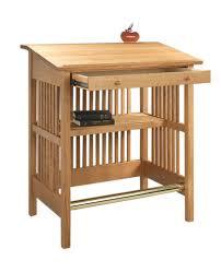 Desk Stand Up by Stand Up Desk Hardwood Artisans Handcrafted Office Furniture