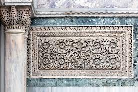 venetian ornaments on the san marco basilica fac