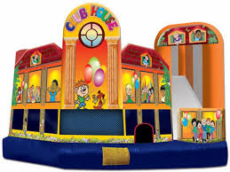 club house combo for sale water slide bounce house
