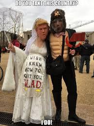 Bride To Be Meme - do you take this country i do meme trump bride putin groom