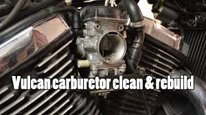 how to kawasaki vulcan vn800 carburetor clean rebuild 1995 2006