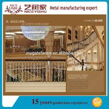 Prefabricated Aluminum Stairs by China Luxury Prefab Interior Ornamental Outdoor Wrought Iron