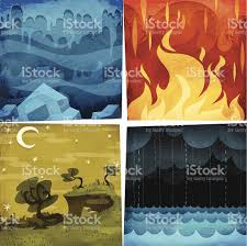 earth air water stock vector more images of