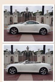 lexus dealership fort lauderdale lexus sc430 convertible this white car is striking with the tan