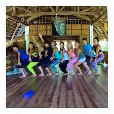 yoga hammock yoga barn panglao panglao island bohol the